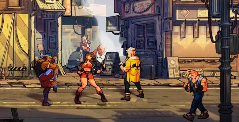 Ретро режим и оригинальный саундтрек в Streets of Rage 4