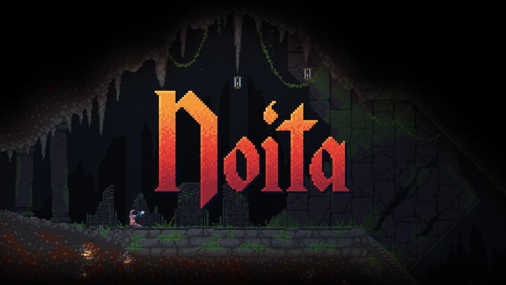 Лучшие игры про магию - Noita