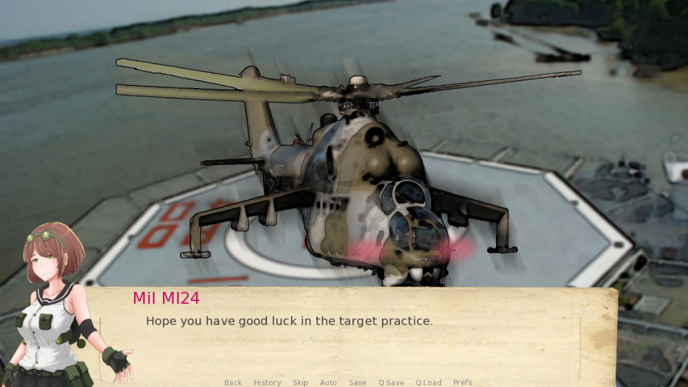 Attack Helicopter Dating Simulator scr