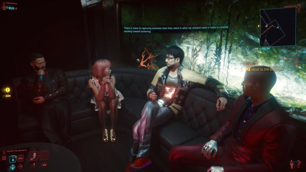 Пасхалка с Хидео Кодзимой в Cyberpunk 2077