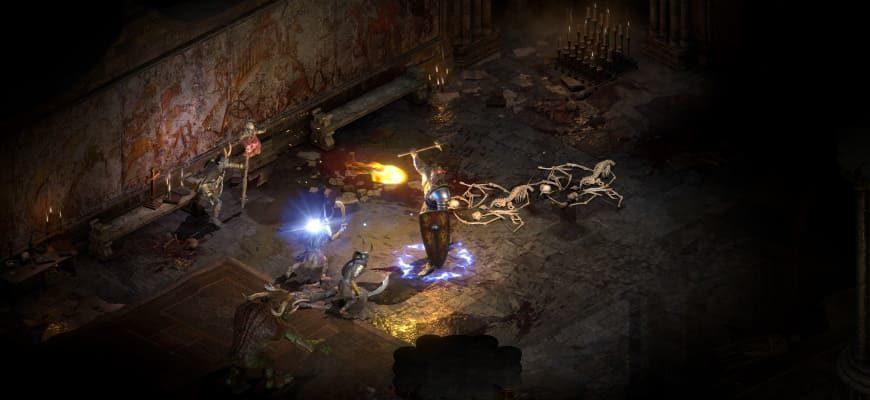 Альфа версия Diablo 2: Resurrected была взломана пиратами