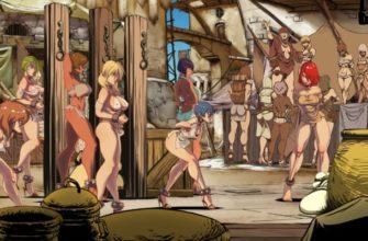 В Steam выйдет Beat'em up про полуголых рабынь - Slave Fighter X